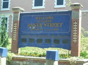 Baker Street is Nelson's main street for shopping