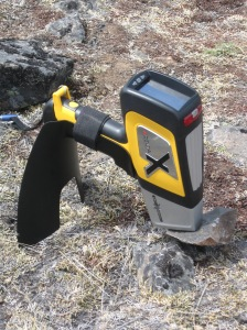 One of our portable XRF machines