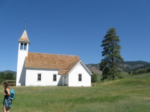 An early Sinixt congregation church