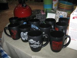 Mugs at camp by Native Home