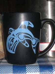 The whale mug