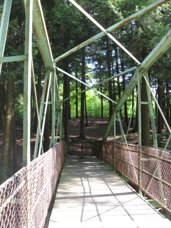 Bridge at Rexford Falls
